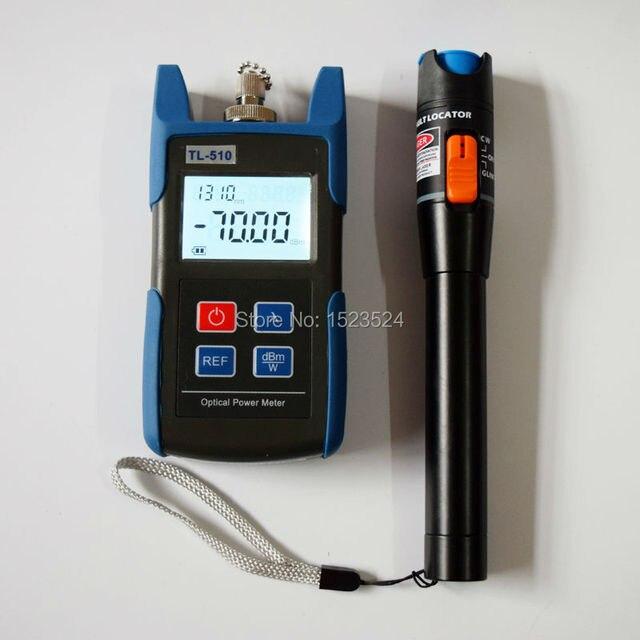 Tl510a - 70 ~ + 10dB ручной мини-оптической мощности метр + TL532 визуальный локатор 10 МВт