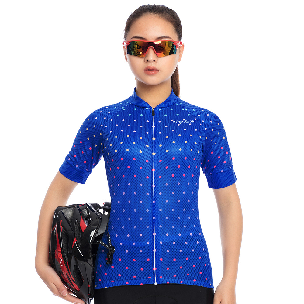 2018 Firty sonw Women Cycling Jersey Set Cycling Clothing Short Sleeve MTB Bicycle Clothing Riding Ropa Ciclismo