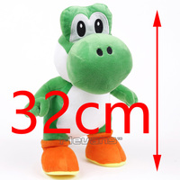 Super Mario Bros Yoshi Plush Toy Soft Stuffed Animal Doll Christmas Birthday Gift 32cm