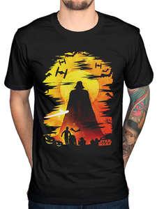 b382f9b6 Star Wars Vader T-Shirt Lord Merch T Shirts Man Clothing