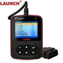 Launch X431 Creader VI OBD2 Scanner Read Clear Fault Live Data Stream EVAP O2 Sensor ODB2 Car Diagnosis Tool Automotive Scanner(China)