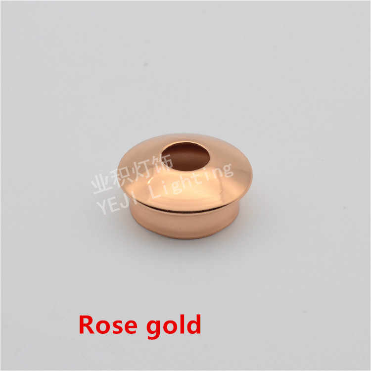 Mushroom-type cap Lamp holder Decorative cover apply to table lamp wall lamp chandelier S Gold Rose Gold Lighting Accessories