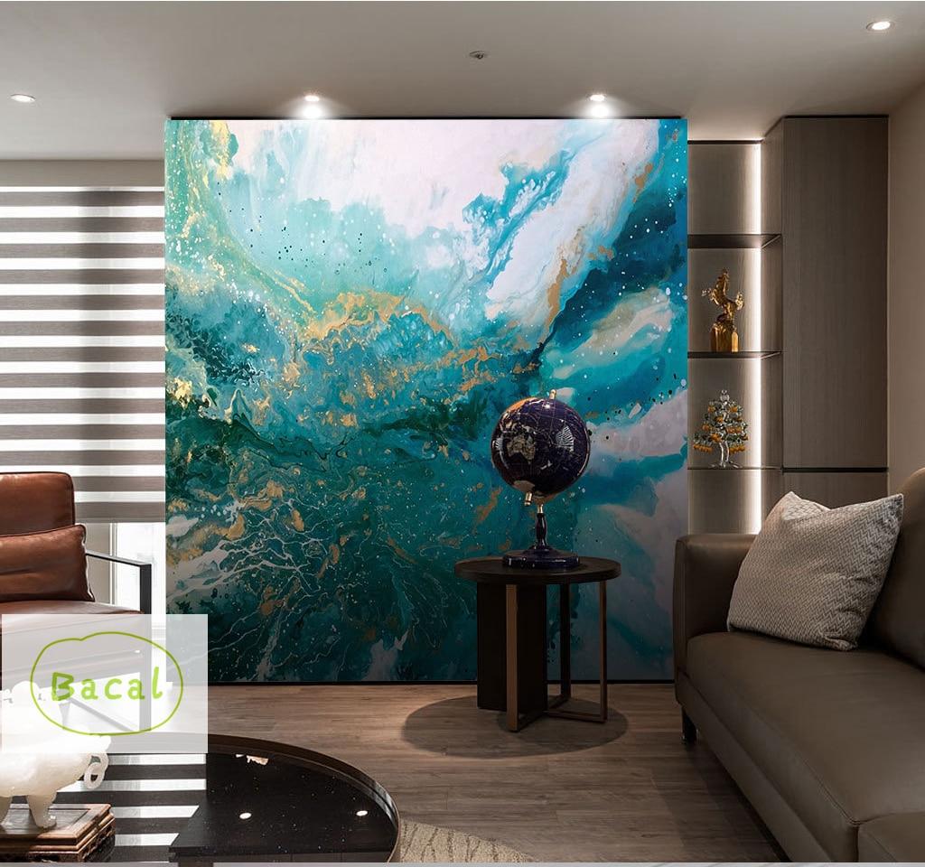 Custom Photo Wallpapers 3d Stereo Blue Texture Marble Wallpaper Murals Living Room Bedroom Wall Paper Decor Papel De Parede 16d Wallpapers Aliexpress