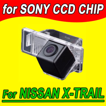 Car rear view Camera for Nissan X-trail / Sunny back up reverse car parking camera waterproof fully NTSC PAL( optional) image