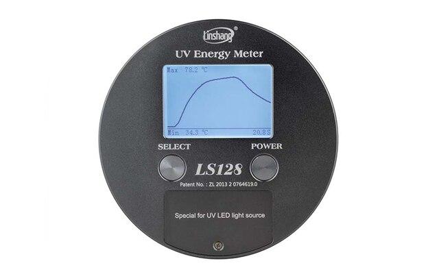 DHL of EMS gratis verzending LS128 LED UV Energie Meter Met een hoge precisie snelle respons temperatuursensor