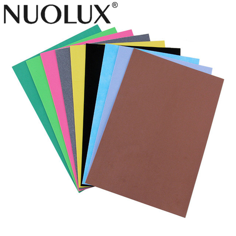 10 PCS Foam Sheets Self-Adhesive Sheets Assorted Colours For Sewing Dolls Home Decor DIY Crafts