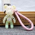 3 pçs/set 18 estilos popobe gloomy violência urso momo trança saco de ornamentos pingente keychain keychain dos desenhos animados brinquedos as crianças presentes boneca