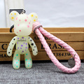 3pcs/set 18 Styles Gloomy Popobe Violence Bear Momo Braid Keychain Cartoon Keychain Bag Ornaments Pendant Gifts Kids Toys Doll
