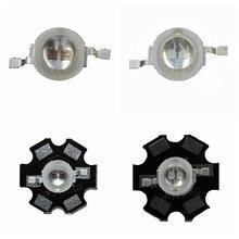 Bộ 50 Led 3 Diode 3W 5W Ánh Sáng 2 Chip 3W LED 5W Diode Phát xanh Dương 450nm UV Diode 395nm IR 730nm 740nm Cao Cấp Đèn UV PCB