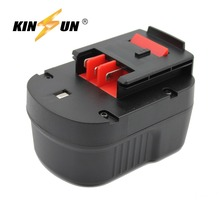 KINSUN Replacement Power Tool Battery 12V 3.0Ah Ni-Mh for Black & Decker Cordless Drill Screwdriver A12 A12-XJ A12EX BD12PSK