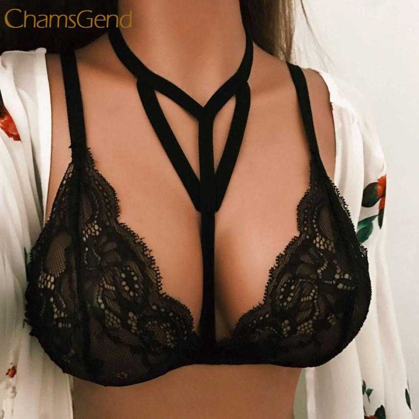 69bb6edaf98 Detail Feedback Questions about Elegant Sexy Women Floral Lace Bralette  Bustier Crop Top Sheer Triangle Bra Shirt Vest M22 on Aliexpress.com