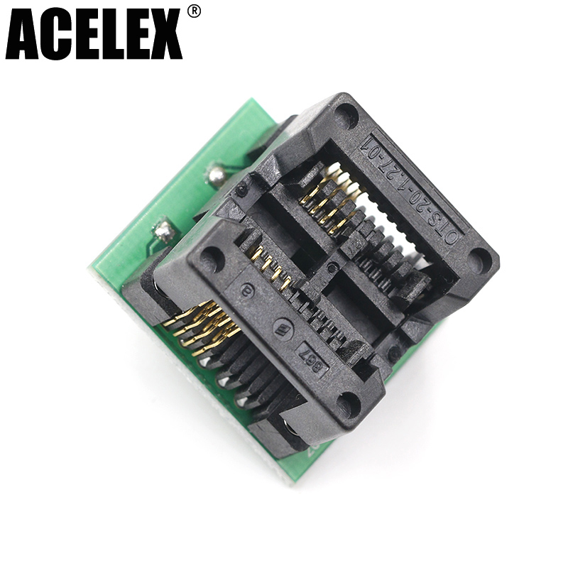 Universal Adapter Sockets SOP8 SOP 8 to DIP8 DIP 8 for all Programmer 200 208 mil 25q80bvsig 25q80 sop 8