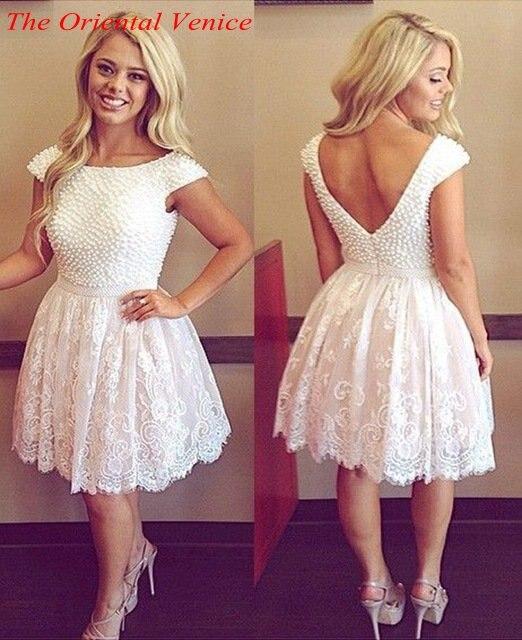 Designer White Cocktail Dresses - Ocodea.com