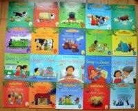 Usborne Farmyard Tales Books in English Children Famous Education Story Book 20pcs/set