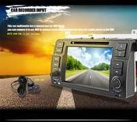1 Din Quad Core Samochodowy Odtwarzacz DVD dla BMW Serii E46 DVD WIFI Pojedyncze Din Odtwarzacz DVD dla BMW W desce rozdzielczej Auto Wideo Odtwarzacze Multimedialne