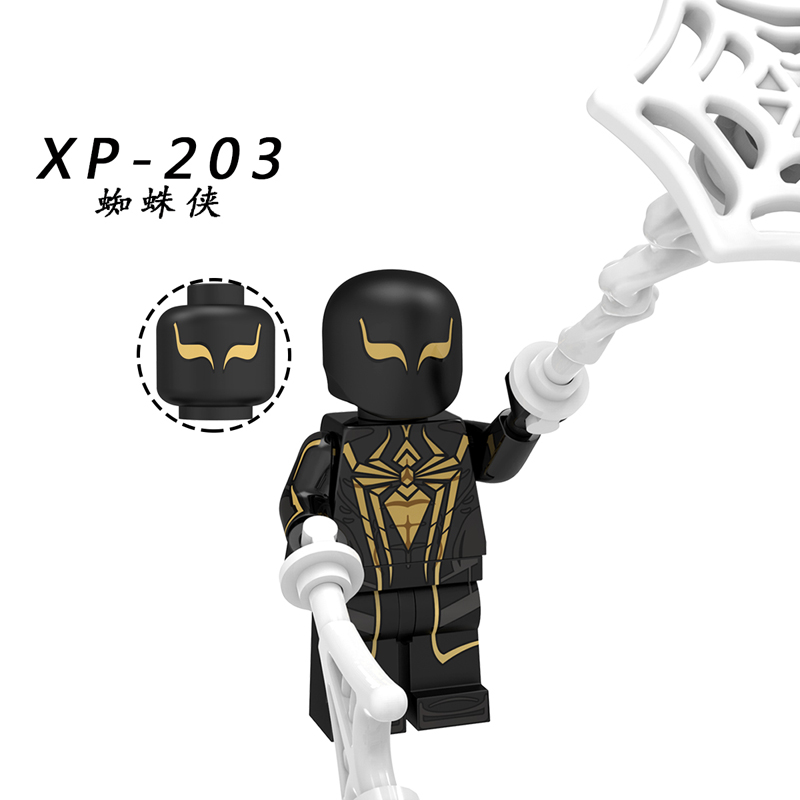 Image 5 - Spider Man Far From Home Figure o Mysterio Spider Man Noir Gwenom Building Blocks Bricks Toys Compatible With Lego KT1027-in Blocks from Toys & Hobbies