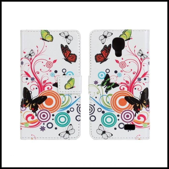 Para lg f70 d315 divertido accesorio del teléfono caja de la carpeta de cuero bo