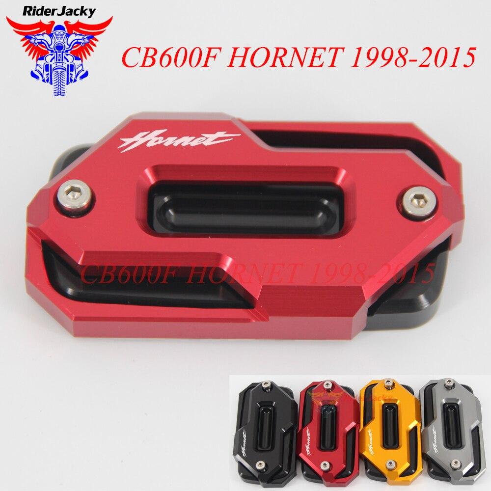 Front Brake Fluid Reservoir Cover Cap For HONDA CB600F CB900F Hornet 1998-2015