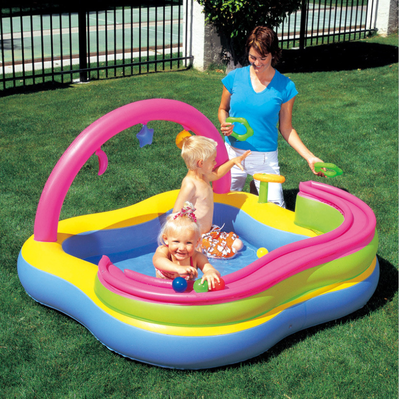 Multi-Function Cute Ball Inflatable Water Pool Bobo Family Playground  Children Baby Sand Ball Pool Outdoor piscine A100 мягкая игрушка promise a nw113501 bobo 35cm