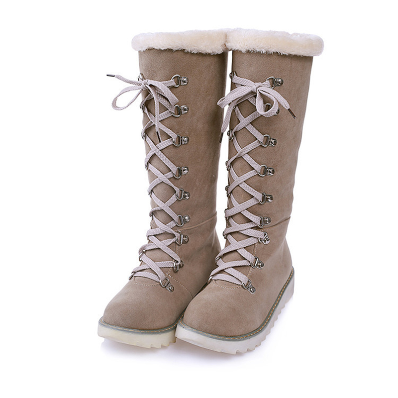 femmes bottes plat hiver chaussures de neige chaudes vert 0RBQw4Rz