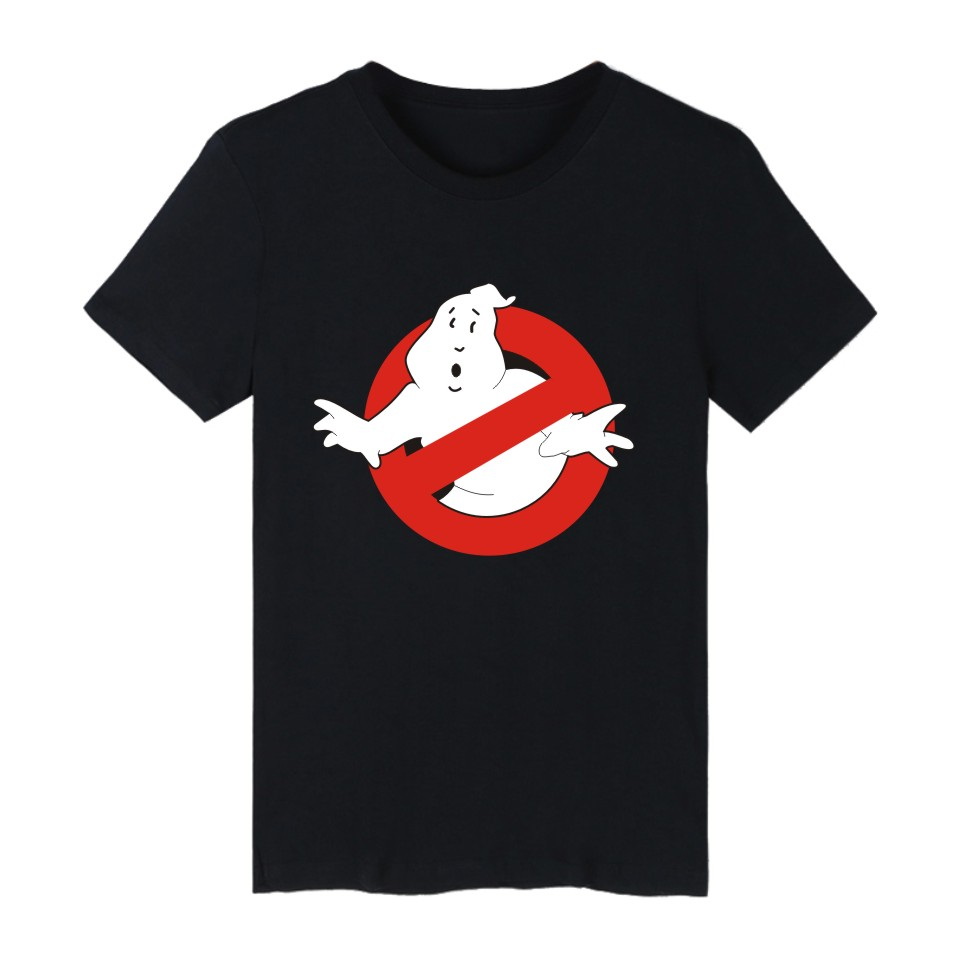Ghostbusters Movie Cotton   T  -  shirt   Men Casual Short Sleeve   T     Shirts   with Ghost Busters Mens TShirts summer brand in Tee   Shirts