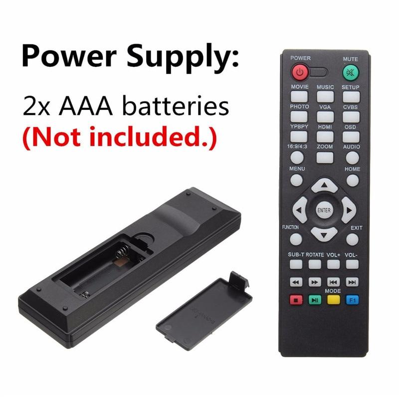 Mini 1080P HDMI մուլտիմեդիա նվագարկչի - Տնային աուդիո և վիդեո - Լուսանկար 6
