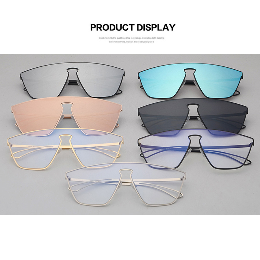 c0ba677ecad9 One Piece Lens Aviator Sunglasses « One More Soul