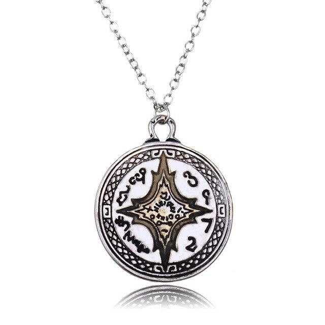 Rome Compass Glow Necklaces5