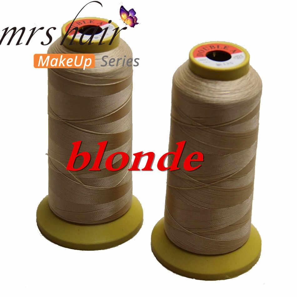 weaving thread /3 workdays Hair Extension Too/Salon Hair Weaving Thread 1Roll/lot High Strength Polyester Thread for Brazilian