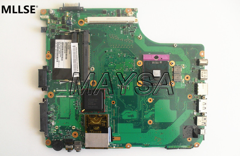 V000126450 Laptop Motherbaord Fit for Toshiba Satellite A300 A305 series Main Board . 100% working nokotion sps v000198120 for toshiba satellite a500 a505 motherboard intel gm45 ddr2 6050a2323101 mb a01