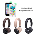 New Arrival Wireless Stereo Bluetooth 4.1 Headset Touch Control Stereo Sound Audio Games Brand Stereo Earphones With Microphone