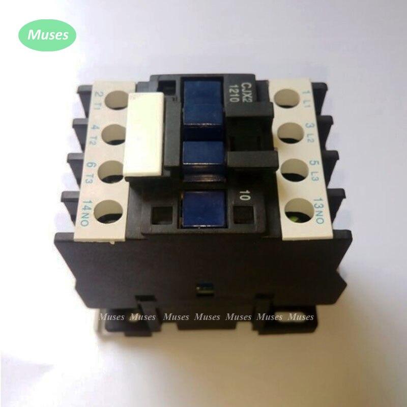 Schütze Motor Starter Relais Cjx2-1210 Schütz Ac 12as Spannung Optional Lc1-d 24 V 36 V 48 V 110 V 220 V 380 V 12 V Lc1 Ac Schütz 50 Hz 60 Hz