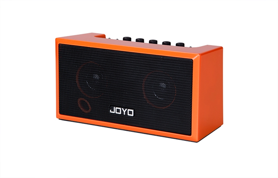 JOYO TOP-GT Guitar Amplifier Mini Bluetooth 4.0 Amp Speaker 2 * 4W with Built-in Rechargeable Lithium Battery for iPhone MP3 free shipping joyo ja 03 metal sound mini guitar amp pocket amplifier micro headphone speaker instruments guitarra 3w amp
