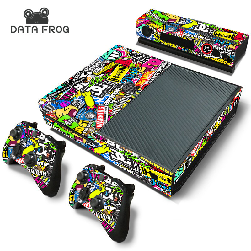 sticker bomb for microsoft xbox one console controller. Black Bedroom Furniture Sets. Home Design Ideas