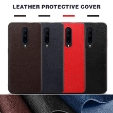 Luxury High Quality Shockproof Ultra-thin Leather Protective Phone Case Back Cover Coque Capa for OnePlus 6 6T 7 Pro Fundas