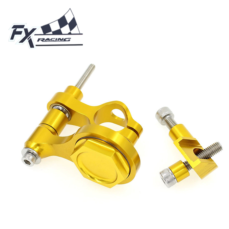 FXCNC Aluminum Motorcycle Steering Stabilizer Damper Mounting Bracket Support Kit For Yamaha YZF R6 2006 - 2015 2007 2008 2009 чайник электрический caso wk 2200