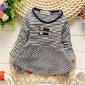 2015 Casual Autumn Baby Kids Children Girls Infant Babi Long Sleeve Tops T-shirts MT242