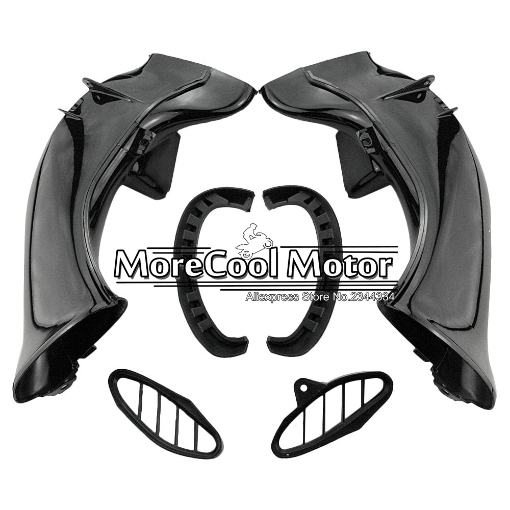 For Yamaha YZF R1 2004 2005 2006 Motorcycle ABS Plastic Ram Air Duct Intake abs plastic new motorcycle ram air intake tube duct for honda cbr600rr 2005 2006 f5 2005 high quality black