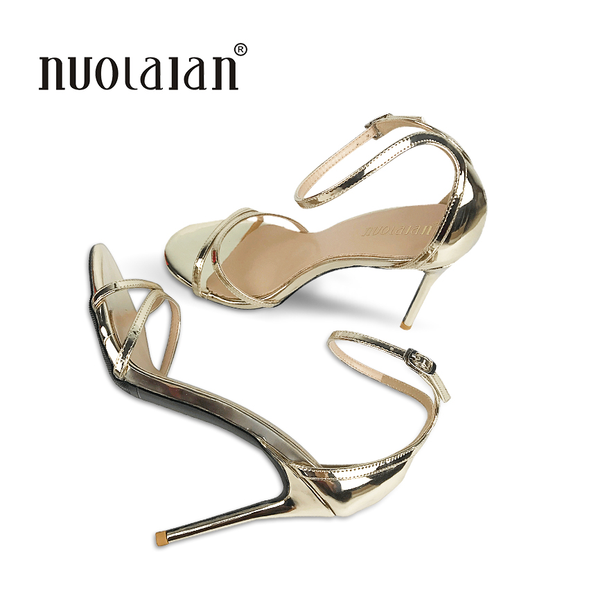 2018 fashion women pumps ankle strap high heel pumps shoes for women sexy peep toe high heels sandals party wedding shoes woman siketu 2017 free shipping spring and autumn women shoes fashion sex high heels shoes red wedding shoes pumps g107