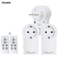 Wireless Remote Control Electrical Outlet Switch EU 220V Smart Socket Plug with 100 feet Range for Lamp Light HouseholdAppliance