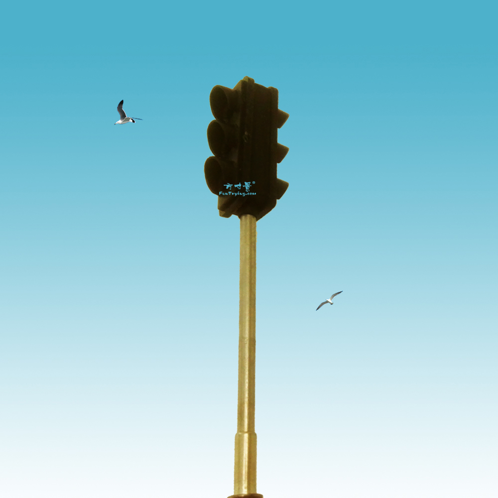 4 pièces Passage de croisement des feux de signalisation à LED Echelle N