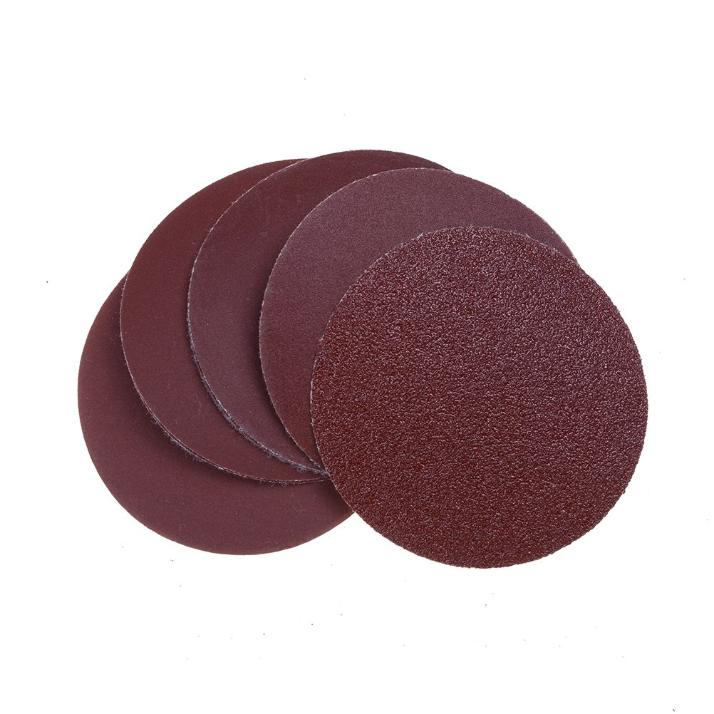 10Pcs/set 75mm Sanding Disc Sandpaper Drill Adapter For Cleaning And Polishing Durable