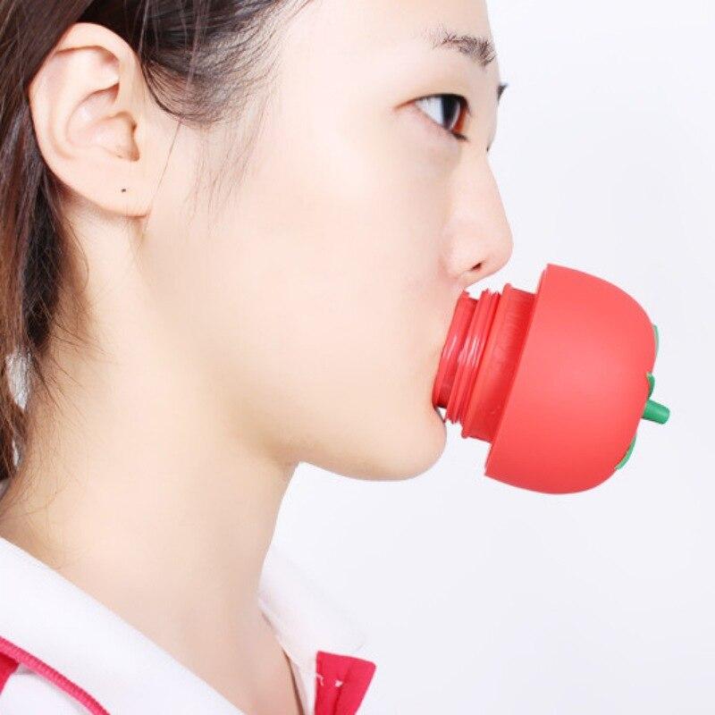 נשים סקסיות מלא השמנמן שפתיים משפר שמנמן כלי מכשיר עיסוי גוף כוסות כוסות רוח סיליקון משפחת צורת עגבניות