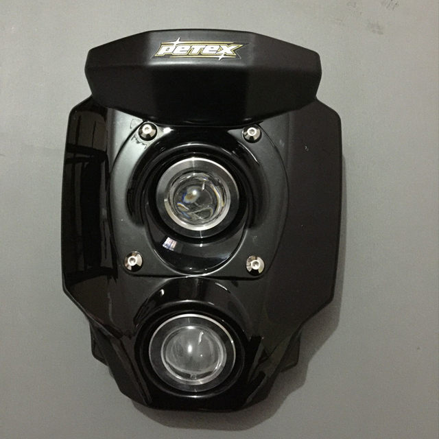 Can Be Customized Auxiliary Motorcycle Lights For V Rod Black Modified 12V MSX125 Custom Ktm Led