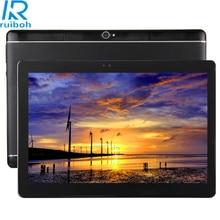 10.1 pulgadas Tablet PC Android6.0 3G Llamada Telefónica 32 GB, MTK6582 Octa Core 1.5 GHz, RAM: 4 GB, Dual SIM, OTG, WiFi, BT, GPS, con (Negro