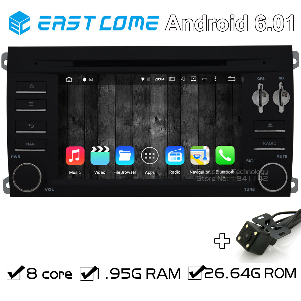 Octa core 8 core android 6 0 car dvd player for porsche cayenne 2003 2004 2005 2006