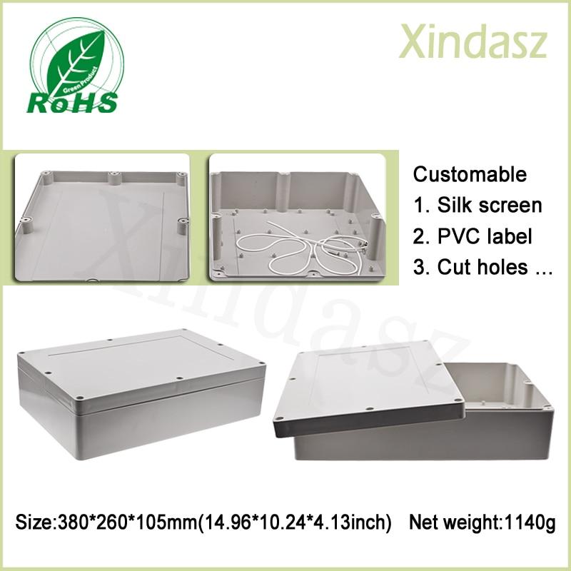 (XD-F11) Carcasas De Plástico Para Electrónica De 380*260*105mm