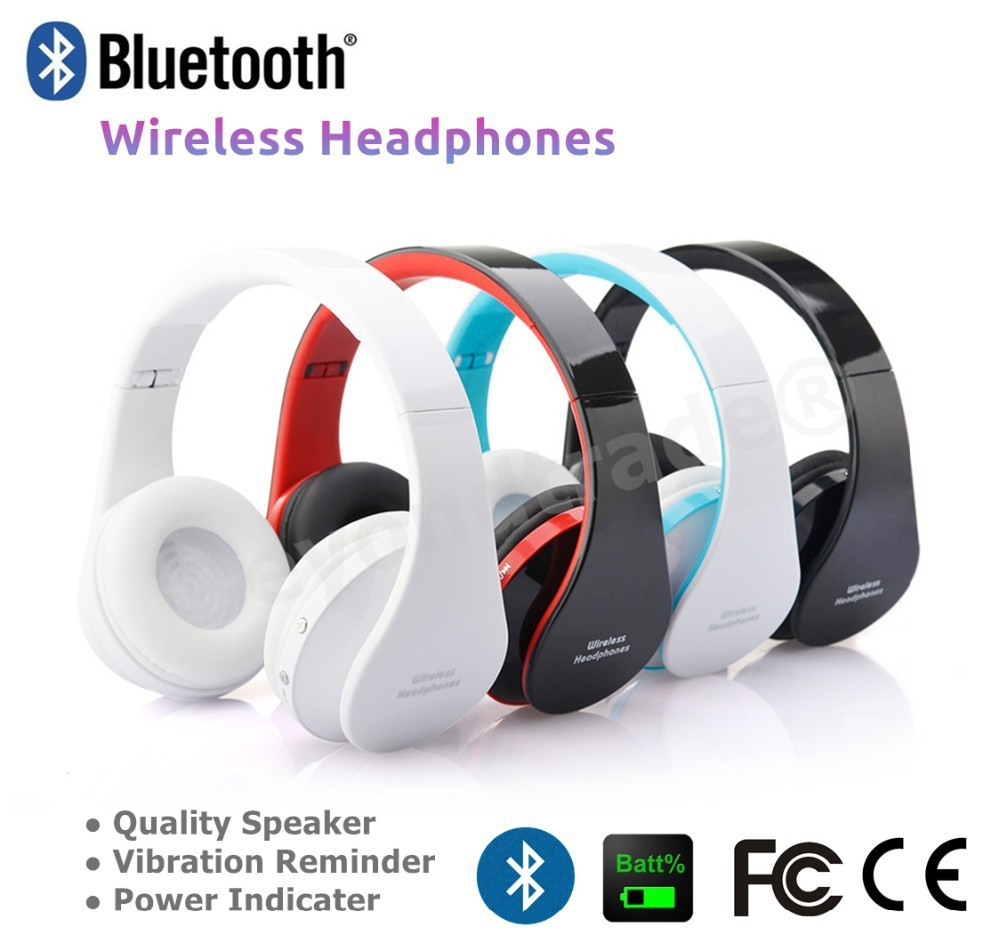 buy wireless headphone auriculares bluetooth earphone earbuds stereo foldable. Black Bedroom Furniture Sets. Home Design Ideas