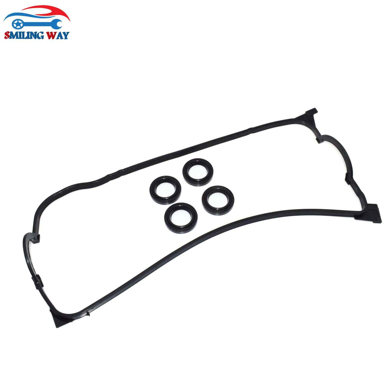 SMILING WAY# Engine Valve Cover Gasket & Spark Plug Seals ... on