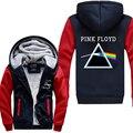 Горячий Новый Pink Floyd Логотип Зима Джиаронг Рун Балахон Флис Мужские Кофты Бесплатная Доставка